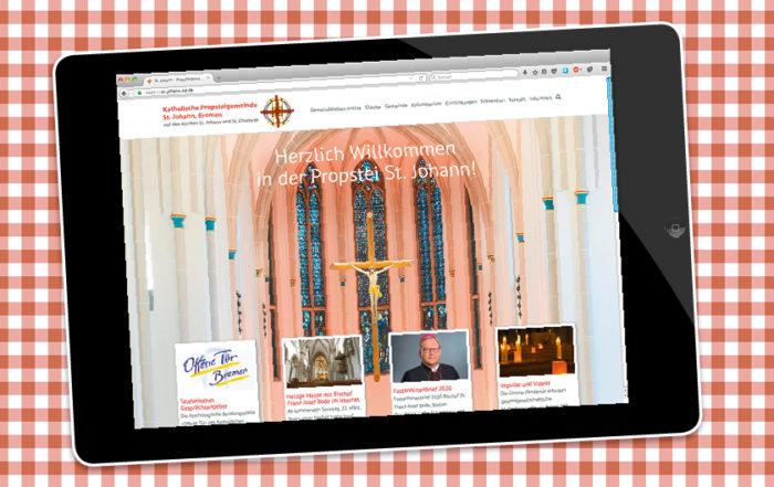 Gemeindeleben online, St. Johann, Bremen