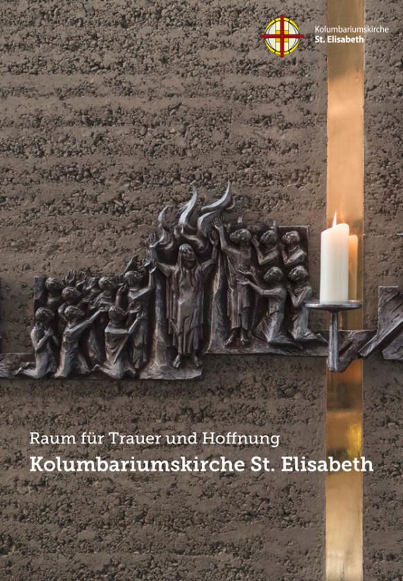 Broschüre zur Kolumbariumskirche St. Elisabeth, Bremen-Hastedt