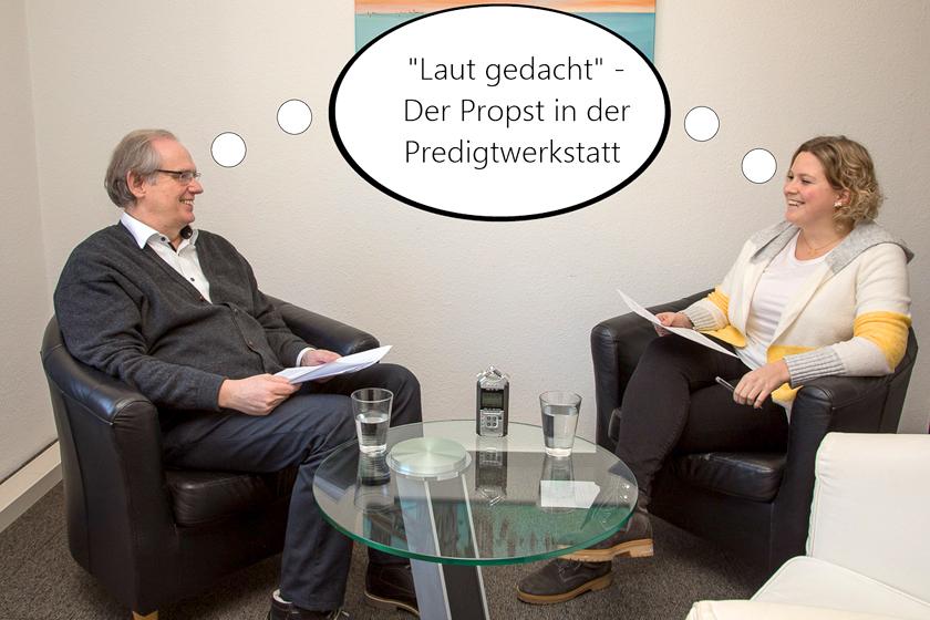 Propst Bernhard Stecker im Podcast