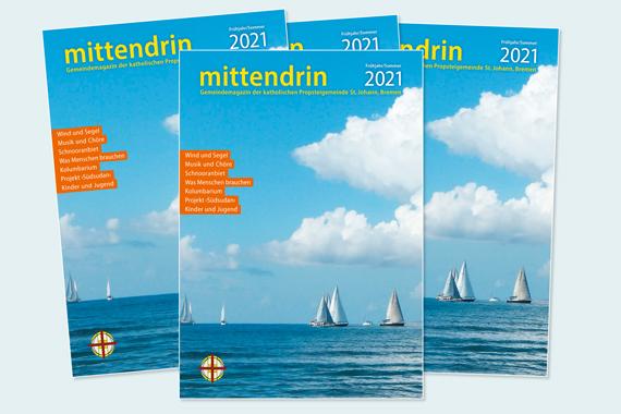 Gemeindemagazin mittendrin Frühjahr/Sommer 2021